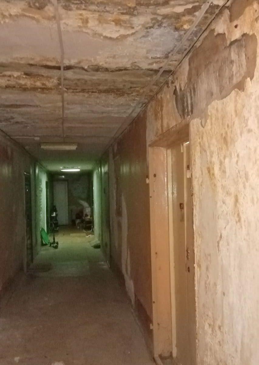 Разруха в общежитии Воронежского промышленно-экономического колледжа (фото: Петра Корельского)
